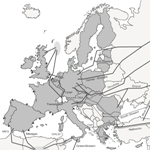 Le infrastrutture di importazione di gas naturale in Europa