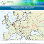 IEA - Gas Trade Flows in Europe