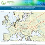 IEA - Gas Trade Flows in Europe