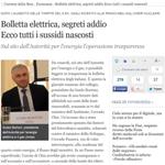 Massimo Mucchetti - Bolletta elettrica, segreti addio  Ecco tutti i sussidi nascosti