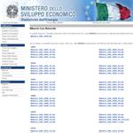 Ministero dello sviluppo economico - Dipartimento per l'Energia