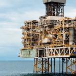 Piattaforma del giacimento gassoso di Shah Deniz nel Mar Caspio (© Stuart Conway/Statoil)
