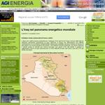 L'Iraq nel panorama energetico mondiale - Matteo Verda