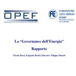 La governance dell'energia - OPEF