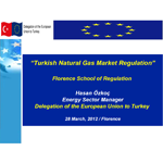 Hasan Özkoç - Turkish Natural Gas Market Regulation