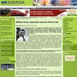 Intervista per AgiEnergia
