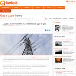 Luglio, nuove tariffe: su l'elettricità, giù il gas