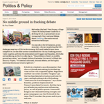 FT - No middle ground in fracking debate
