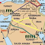 The Syrian conflict and gas pipeline routes