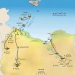Tracciato del gasdotto Greenstream