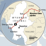 Burma-China gas pipeline