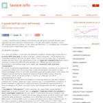 LaVoce.info -  Il grande bluff del costo dell'energia