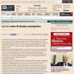 Sole24Ore - La Ue sotto il ricatto energetico