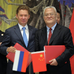 FT - China and Russia sign gas deal