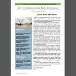 Energy International Risk Assessment - june 2014