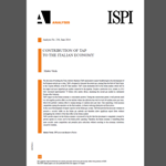 ISPI - Contribution of TAP to the Italian Economy