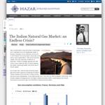 CSI - The Italian Natural Gas Market: an Endless Crisis?