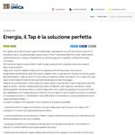 IU - Energia: il Tap è la soluzione perfetta