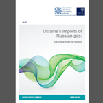 OIES - Ukraine's imports of Russian gas – how a deal might be reached
