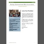 EIRA newsletter - ottobre 2014