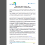 Eurogas - Mild weather reduces demand in 2014, but gas remains strong in the heating market