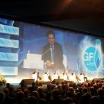 Газпром - Выступление Алексея Миллера о прогнозах и проблемах мировой газовой отрасли на IV Петербургском международном газовом форуме