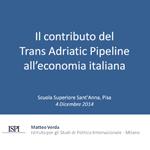 Verda - Il contributo del Trans Adriatic Pipeline all'economia italiana