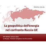 ISPI - La geopolitica dell'energia nel confronto Russia-UE