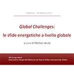 Global Challenges: le sfide energetiche a livello globale