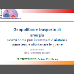 SE - Geopolitica e trasporto di energia