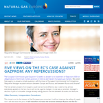NGE - Five views on the EC's case against Gazprom