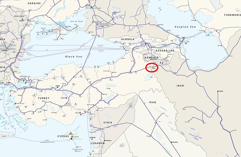 Turchia: il tratto di gasdotto saltato