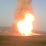 Explosion closes Azerbaijan-Turkey gas pipeline again