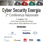 Cyber Security Energia 2ª Conferenza Nazionale