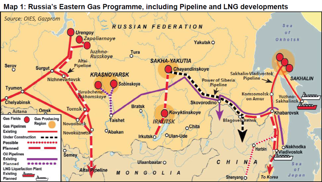 OIES - Russa's Eastern Gas Programme