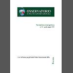 Focus sicurezza energetica 22/2015