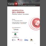 Geopolitica dell'energia: risorse, scenari, sicurezza