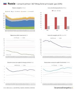 INFOGRAFICA - Consumi energetici: Russia
