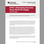 OPEC's Misleading Narrative About World Oil Supply
